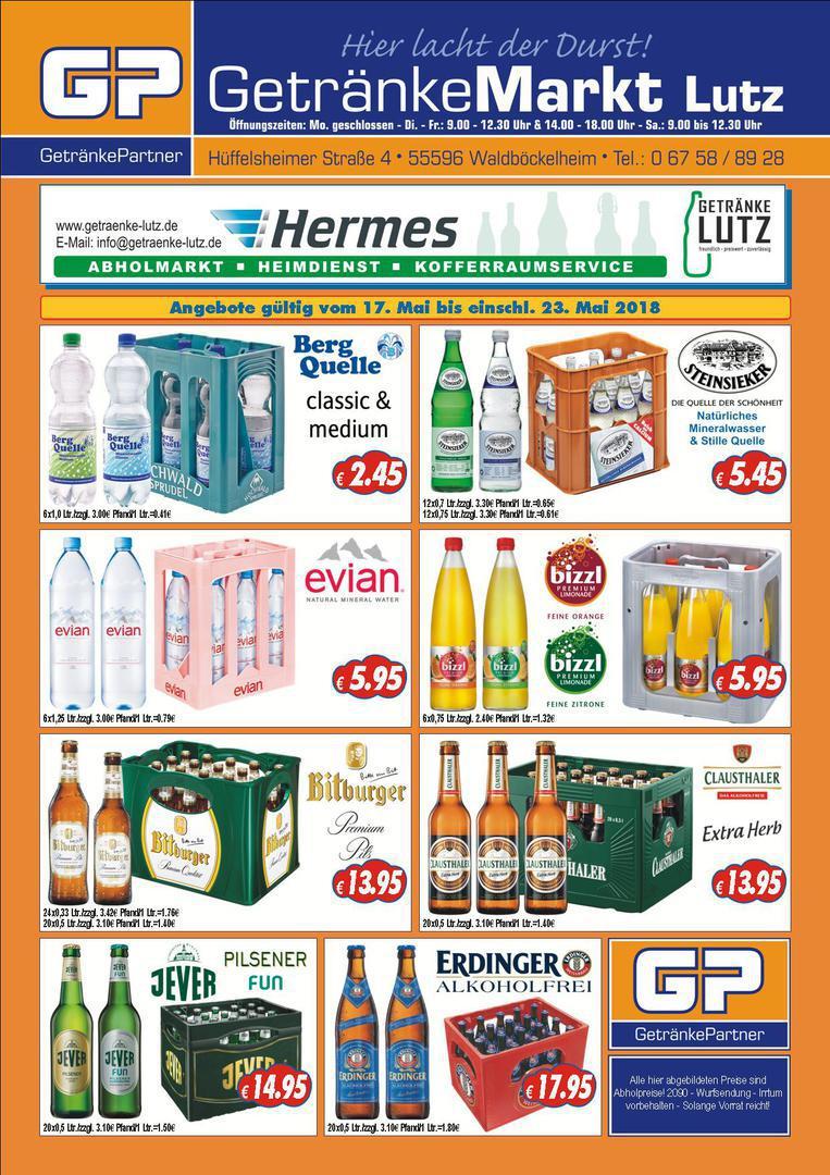 Getränke Lutz - Angebot der Woche
